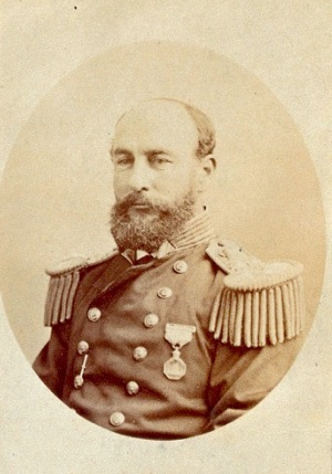 Photo Portrait of George Strong Nares